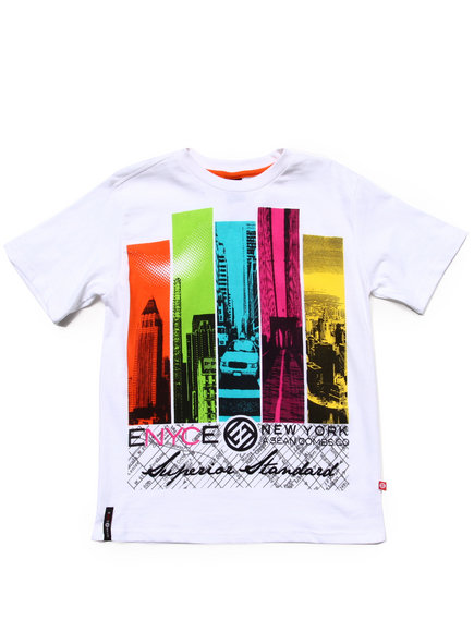 Enyce Boys White City Tee (8-20)