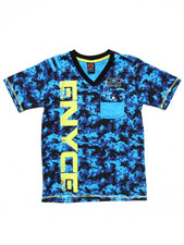 Boys - DIGI CAMO POCKET TEE (8-20)
