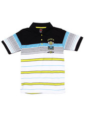 Short-Sleeve - STRIPED POLO (8-20)