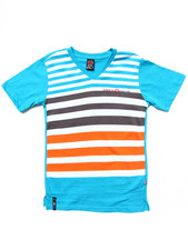 Enyce - STRIPED V-NECK TEE (8-20)