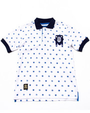 Short-Sleeve - ALLOVER STAR POLO (8-20)
