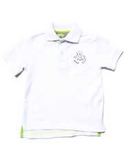 Boys - SOLID PIQUE POLO (2T-4T)