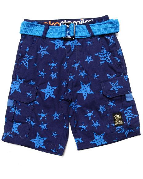 Akademiks Boys Blue Star Print Shorts (4-7)