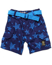 Boys - STAR PRINT SHORTS (2T-4T)