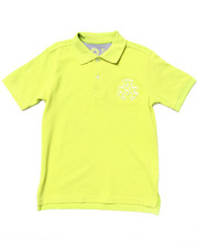 Short-Sleeve - SOLID PIQUE POLO (8-20)