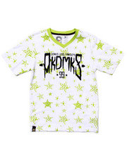 Akademiks - ALL OVER STAR PRINT TEE (8-20)