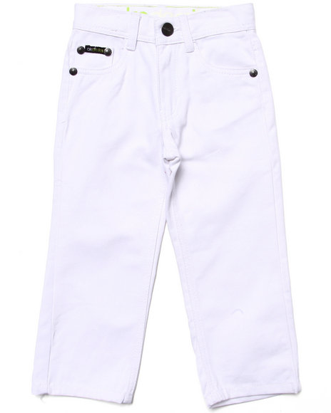 Akademiks - Boys White Colored Jeans (4-7)