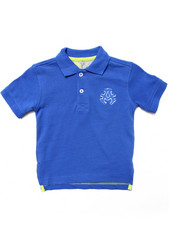 Tops - SOLID PIQUE POLO (2T-4T)