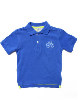Akademiks - SOLID PIQUE POLO (2T-4T)