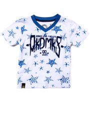 Tops - ALL OVER STAR PRINT TEE (2T-4T)