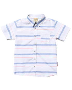 Arcade Styles - S/S STRIPED SHIRT (8-20)