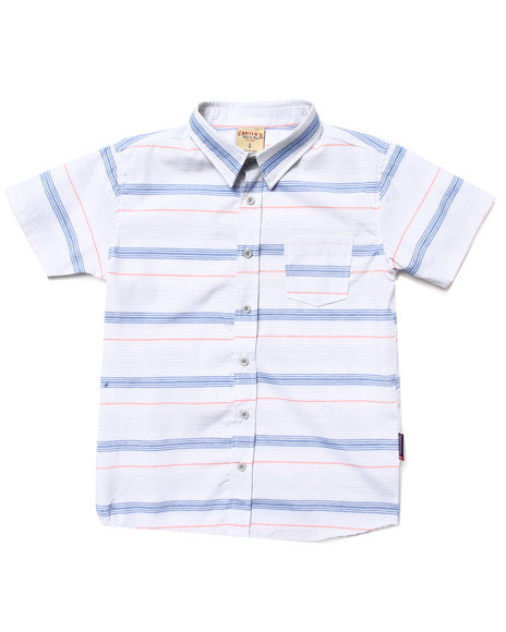 Arcade Styles Light Grey Button-Downs
