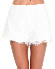 -FEATURES- - Almost Over Lace Shorts