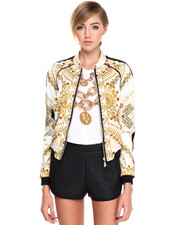 Light Jackets - Duchesse Star & Stud Jacket
