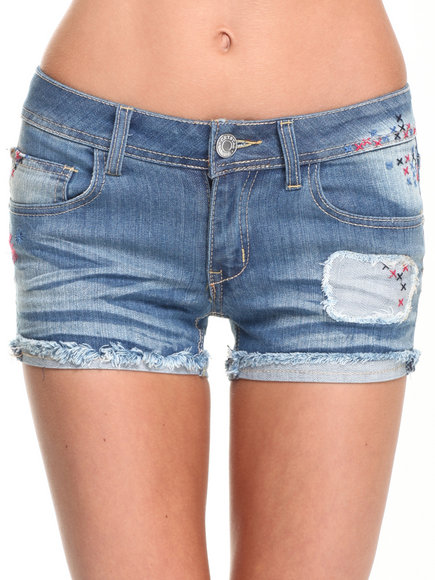 Fashion Lab Indigo Shorts
