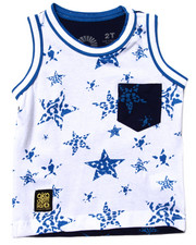 Tops - ALL OVER STAR TANK (2T-4T)