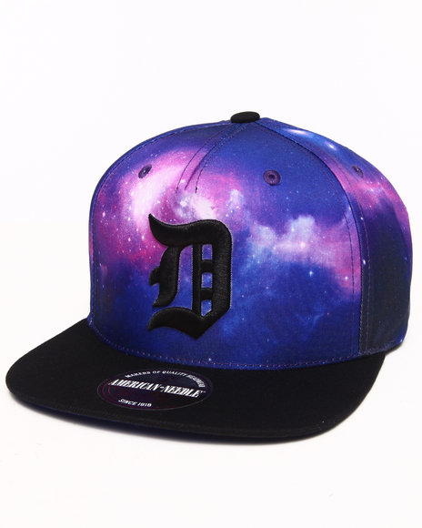 American Needle Men Detroit Tigers Final Frontier Strapback Hat Multi