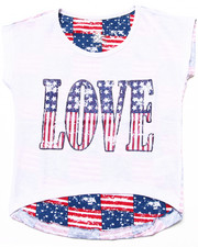 Girls - LOVE AMERICANA TEE (4-6X)