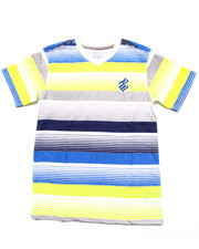Rocawear - STRIPED V-NECK TEE (8-20)