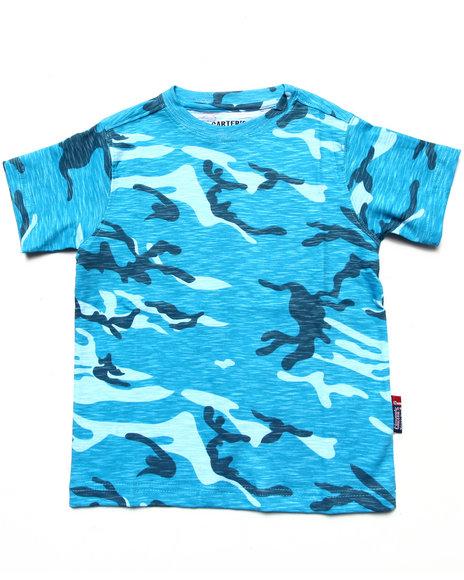 Arcade Styles Blue,Camo T-Shirts