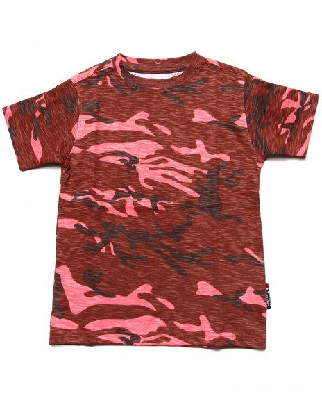 Camo,Red T-Shirts