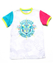Rocawear - COLORBLOCK ROC TEE (8-20)