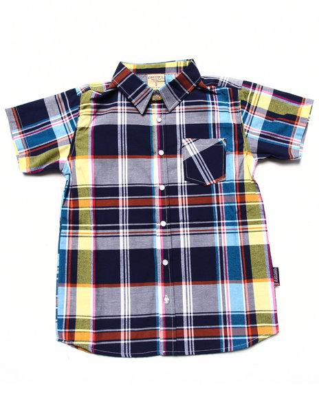Boys Plaid Shirt
