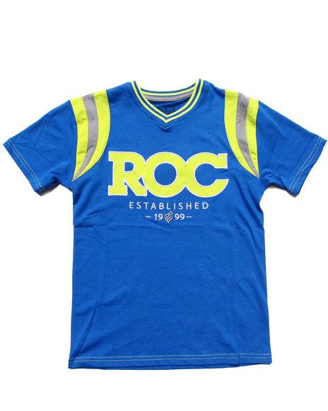 Rocawear Boys Blue Roc Tee (8-20)