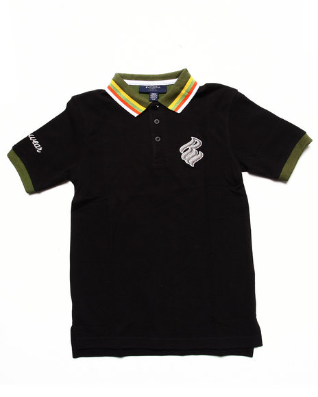 Rocawear - STRIPED COLLAR POLO (8-20)