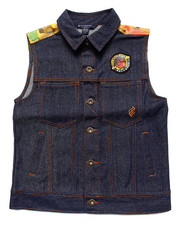 Vests - DENIM VEST (8-20)