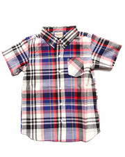 Tops - S/S PLAID SHIRT (4-7)