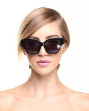 Accessories - Sagitta Black Cat Eye Sunglasses