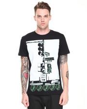 Shirts - Versace Print Street Tee