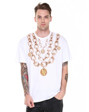 Short-Sleeve - Versace Chain Tee
