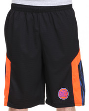 NBA, MLB, NFL Gear - New York Knicks Team Asphalt 2 Shorts