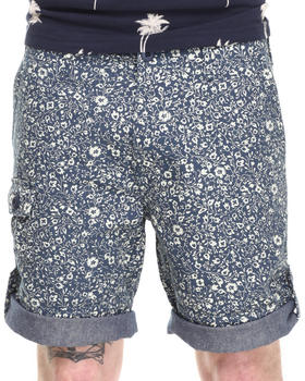 10.Deep - Convert. Floral Short w/ Roll Detail