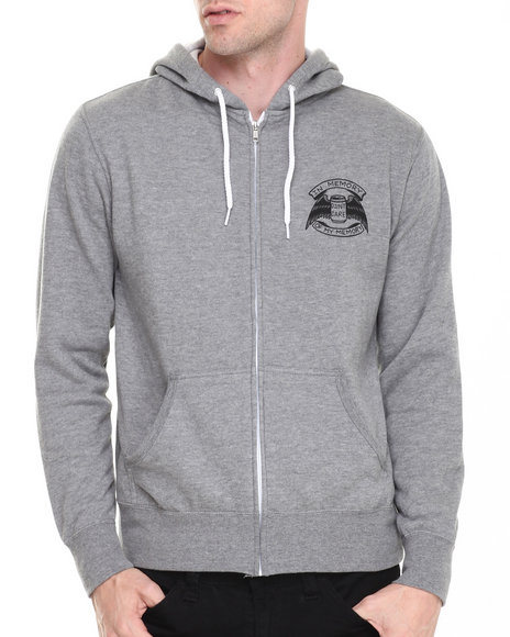 Don't Care Grey Hoodies