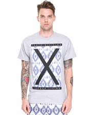 Men - Larger Living Ikat Tee