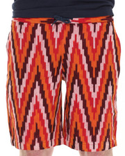 Men - Cozy Chevron Short w/ Roll Detail
