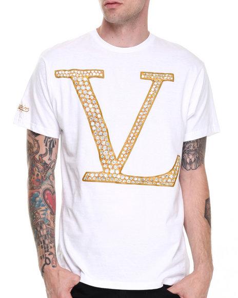 Vampire Life - Men White Vl Pendant T-Shirt
