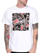 Men - OG Rose Camo Box Script T-Shirt