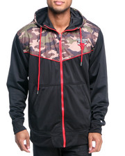 Men - Chicago Bulls Team Commando Hoodie