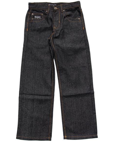Rocawear Boys Black Embroidered Flap Pocket Jeans (8-20)