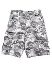 Bottoms - PRINTED CARGO SHORTS (8-20)