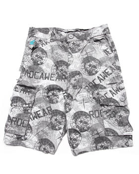 Rocawear - PRINTED CARGO SHORTS (8-20)