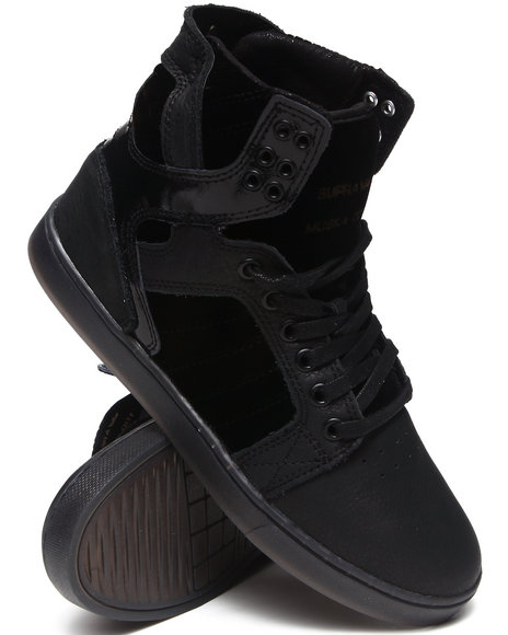 Supra - Men Black Skytop Lx Sneakers