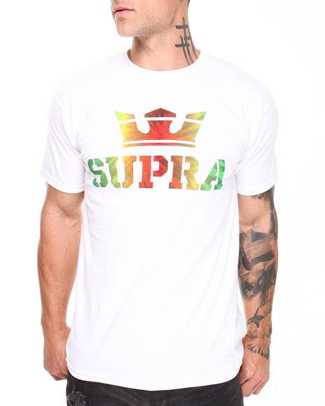 Supra White Above Tee