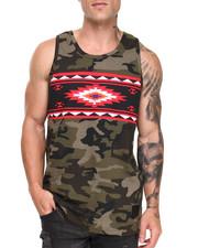 Shirts - Navajo Camo Tank