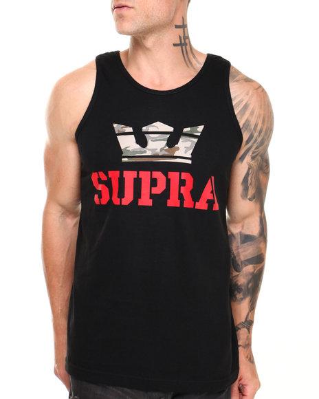 Supra Black,Camo Above Tank