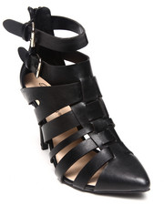Fashion Lab - Kayla Pointy Toe Strappy Pump
